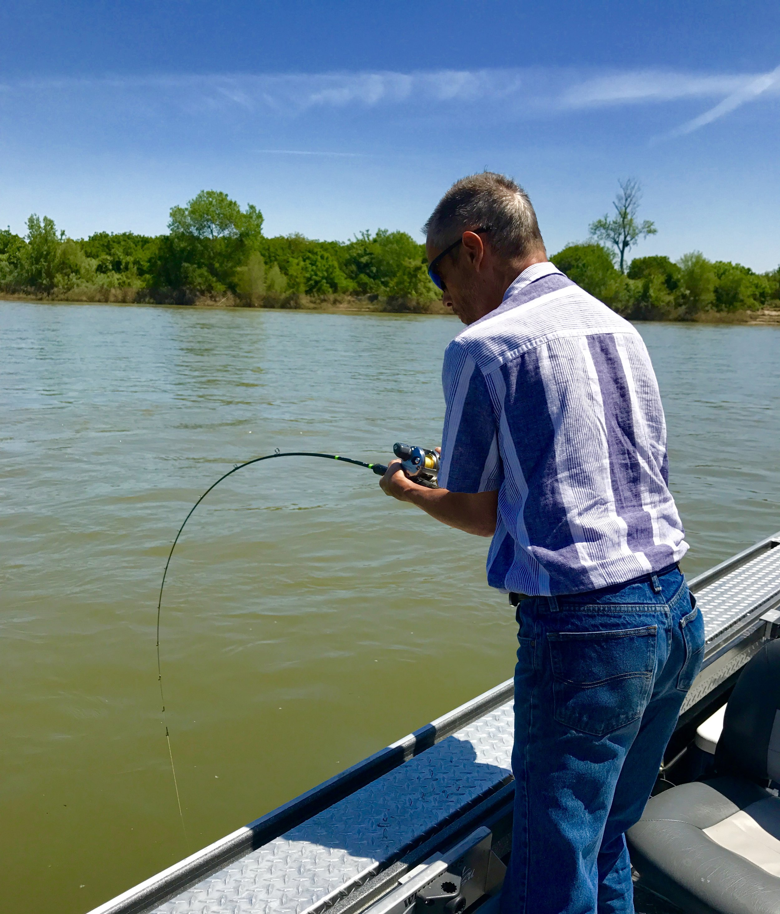 Striped bass fishing report 5 7 jeff goodwin fishing for Striper fishing report