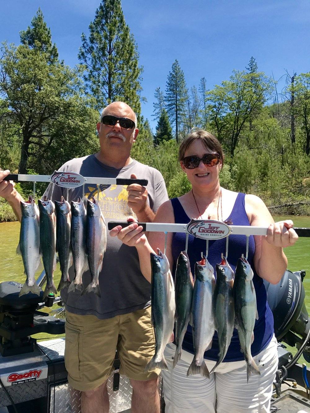 Limits of Whiskeytown Lake Kokanee salmon.