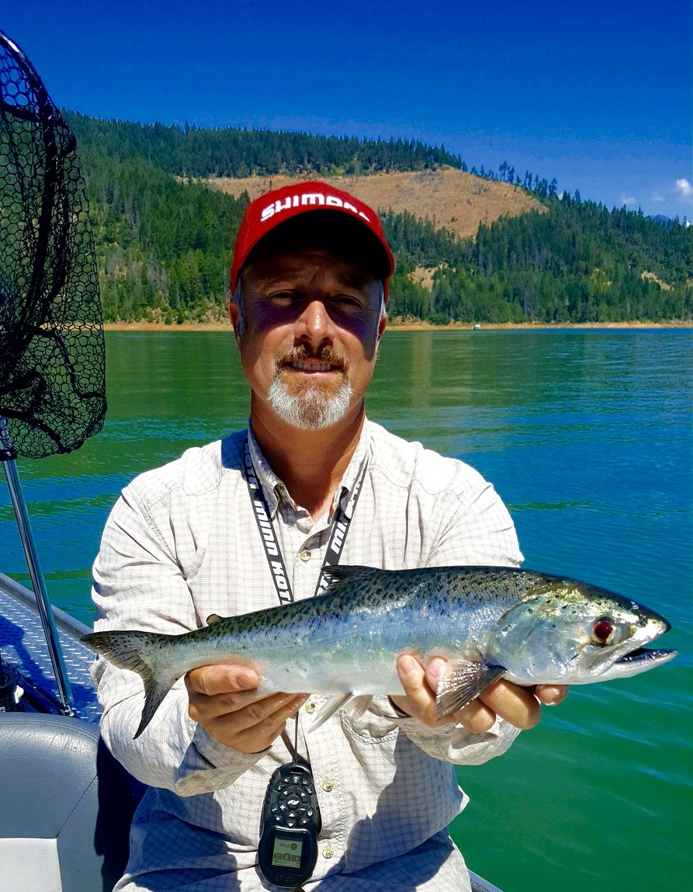 Trinity Lake King salmon!