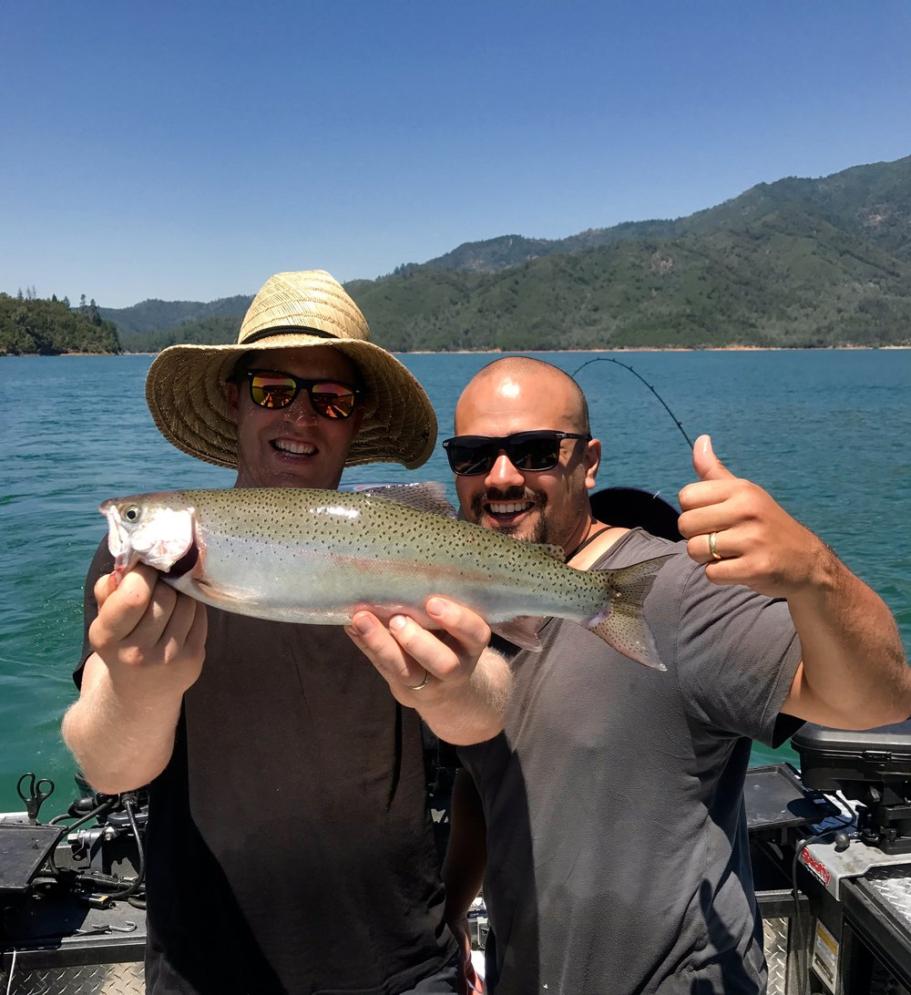 Its time for Shasta Lake to turn on, so lets go fishing!