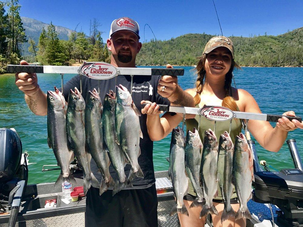 Limits of Kokanee salmon!