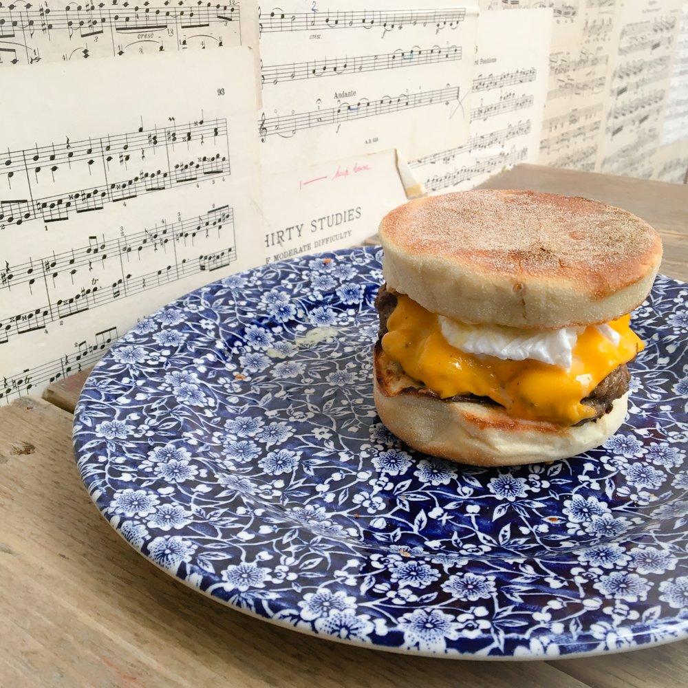 Sausage-Egg-Muffin