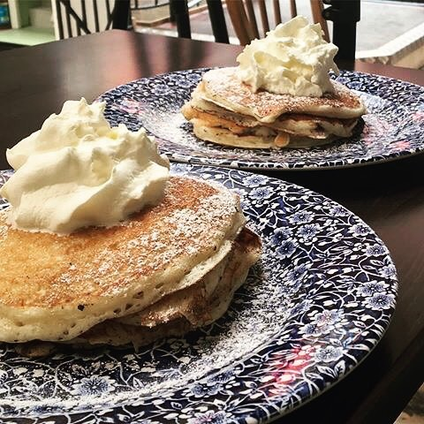#brunchtime !! We've got a variety of very pleasing pancakes for your pleasure ;) !!