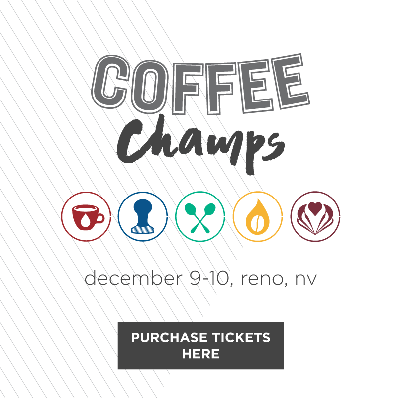 CoffeeChamps comes to Reno! - Our hometown is hosting one of the qualifying events for the U.S. Coffee Championships! Come join us for a weekend of coffee events and competitions in a veritable heaven for coffee lovers of all kinds. Click the image to purchase your passes to the event, and keep an eye on our social media for more on events and competition schedules!