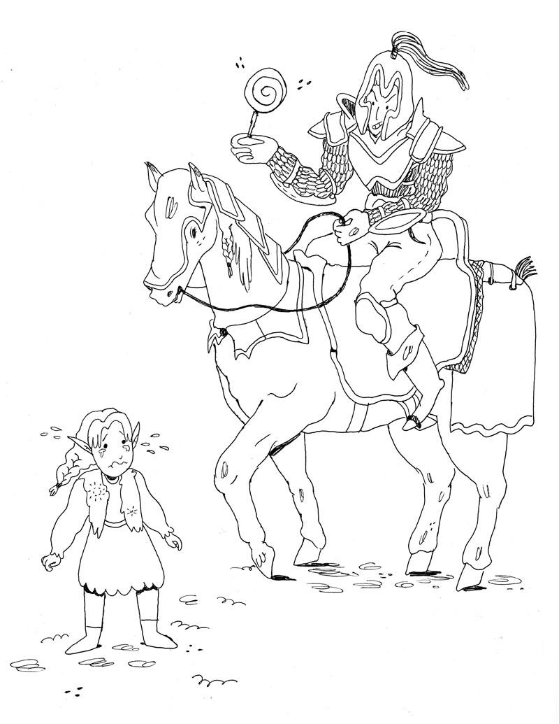 Knavish Knight