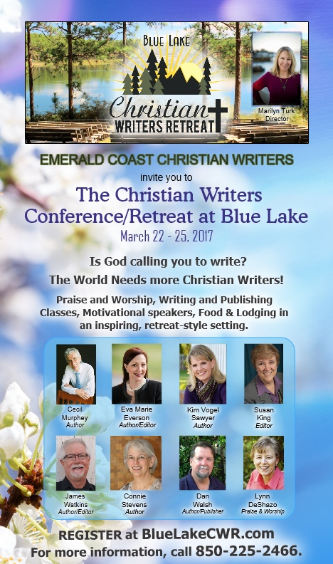 Information and how to register @ http://bluelakecwr.com   marilynturkwriter@yahoo.com  850-225-2466
