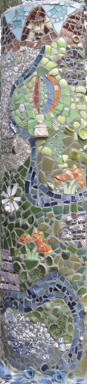 4. Napa River Stele by Ann Shelby Valentine