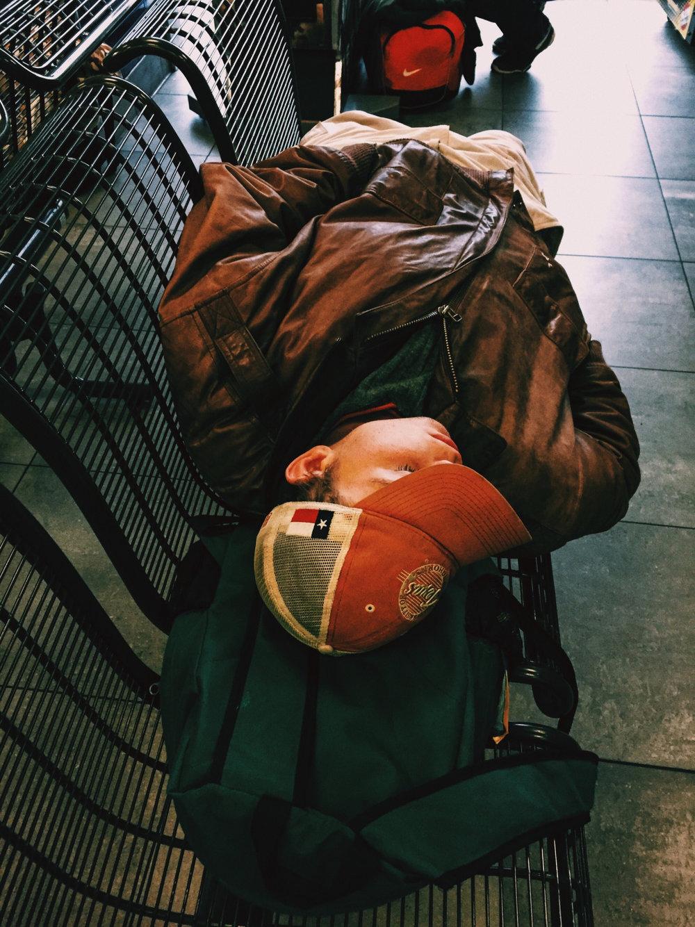 Dallas, Texas Greyhound Station