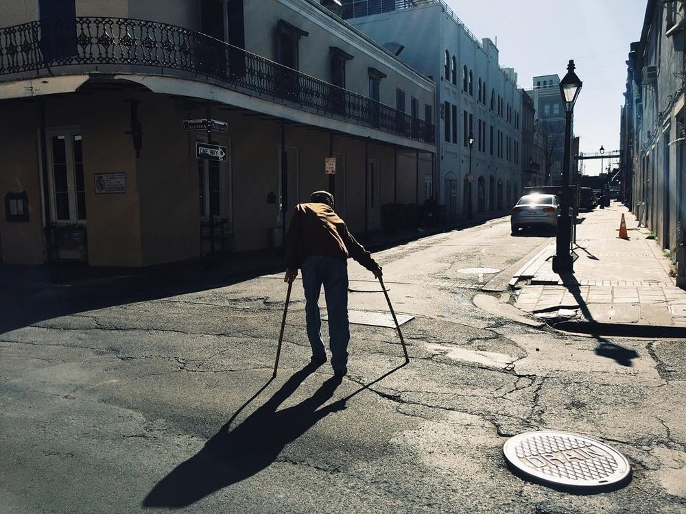 Early morning in the French Quarter, New Orleans