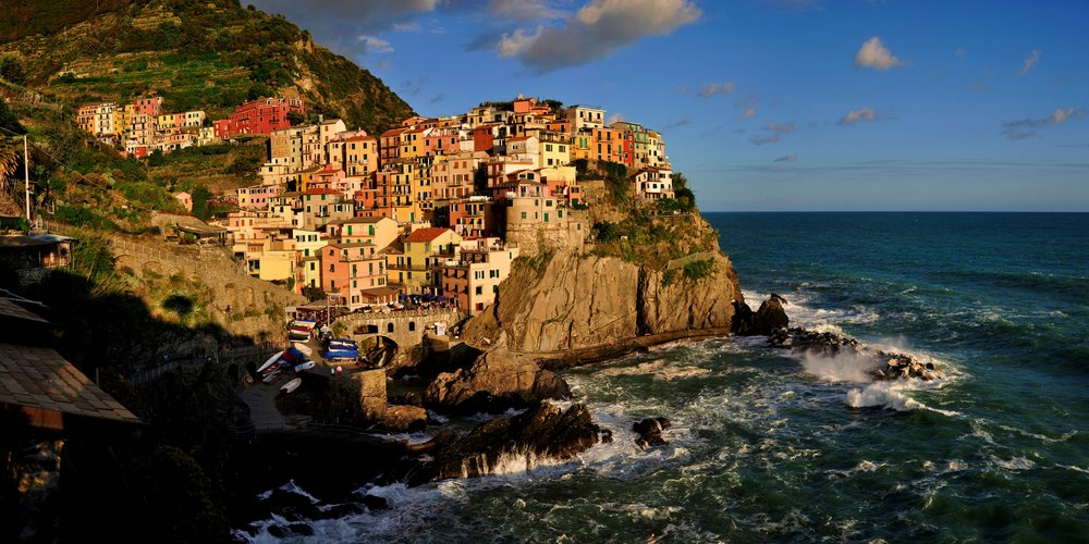Panoramic - Manarola Sunset 24 x 12 Gallery Edit.jpg