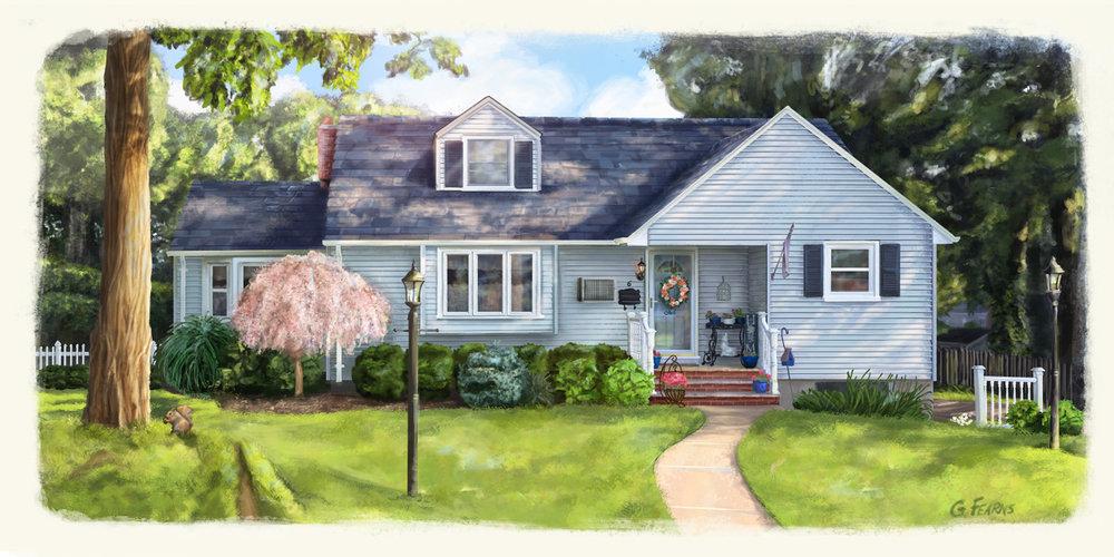 House Portrait Commision