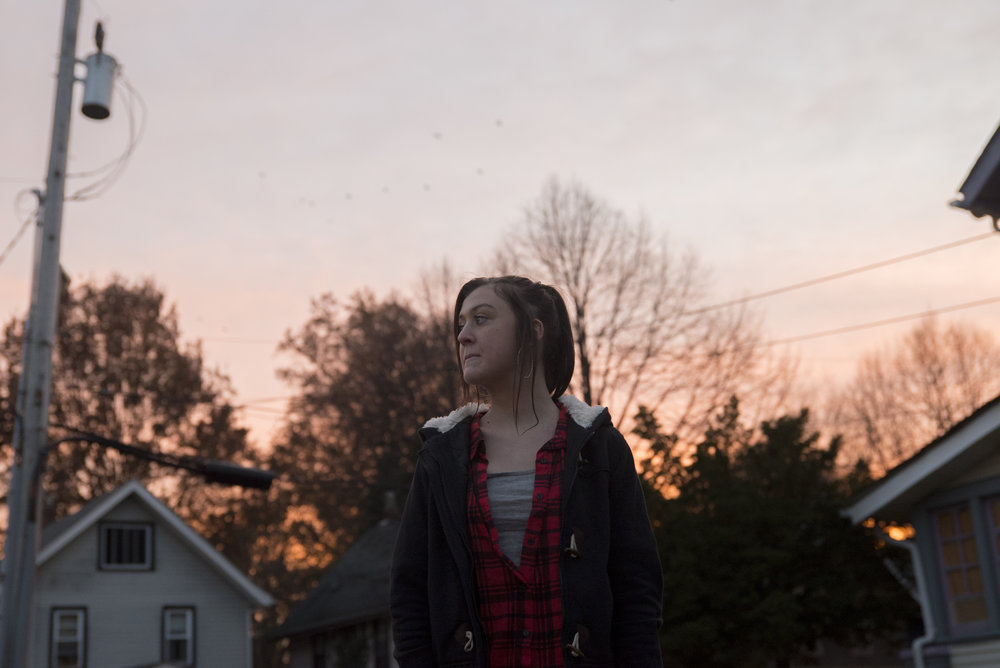 Brandie, 18 at sunset: Follow Story
