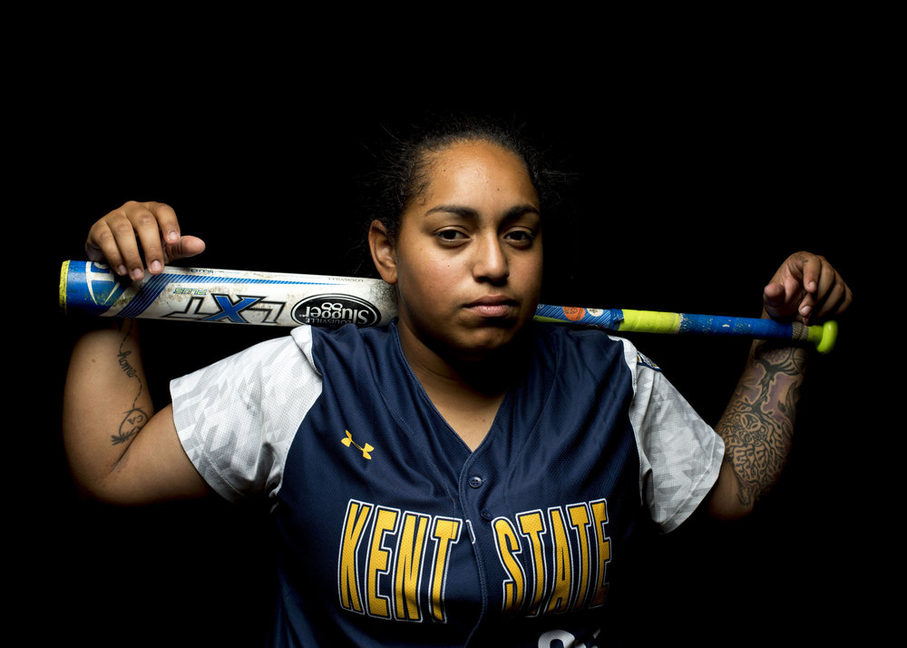 Janel Hayes: Kent State Softball Pitcher Oct.2, 2016