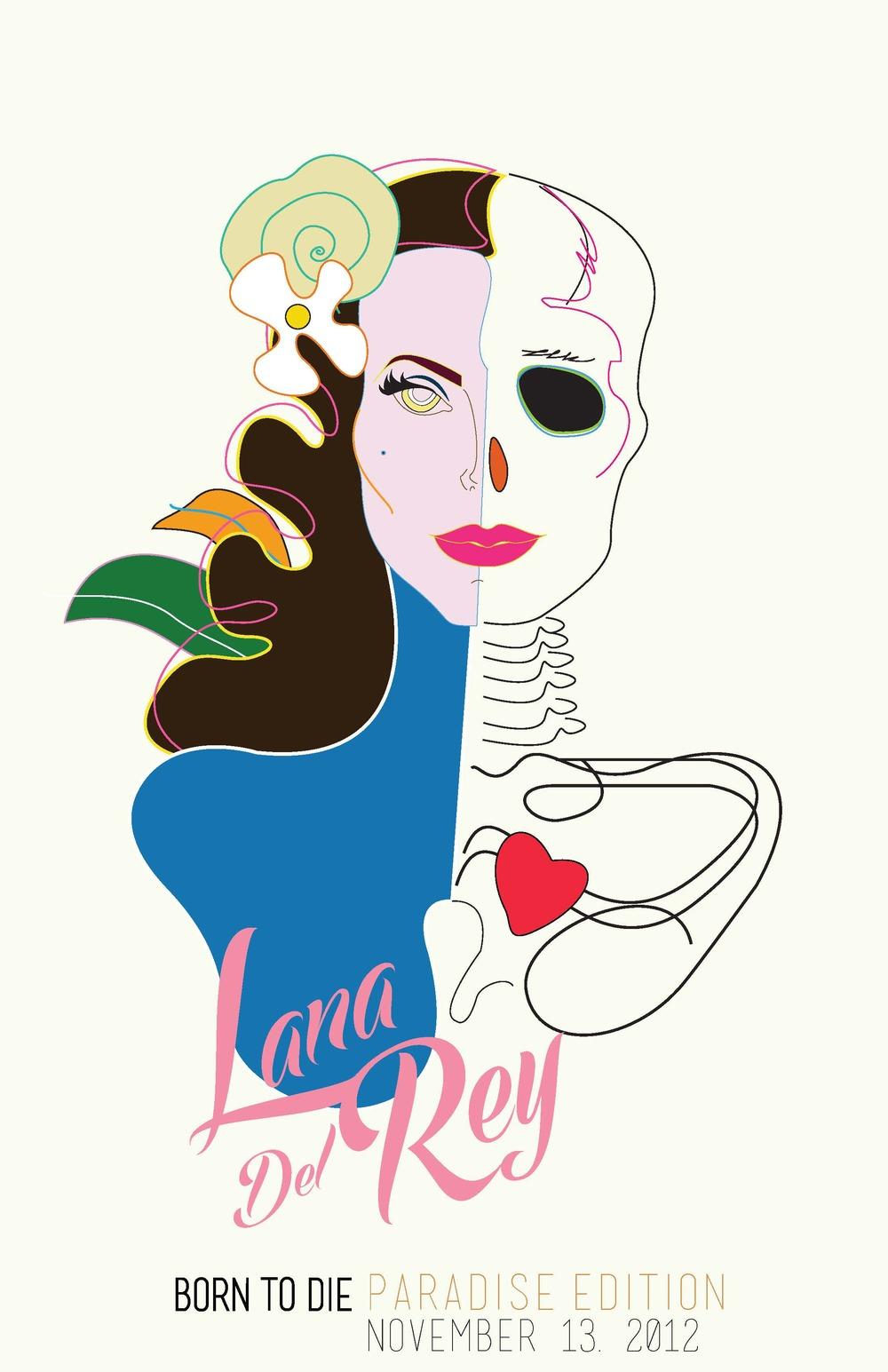 Lana del Rey-Born To Die Poster .jpg