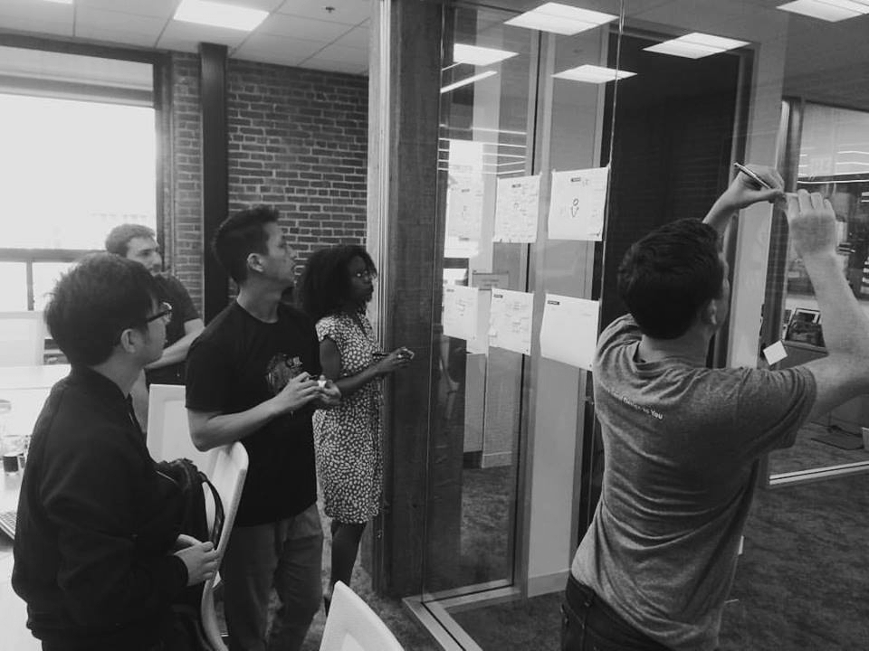PROCESS   Synthesizing data with the team cont'd.