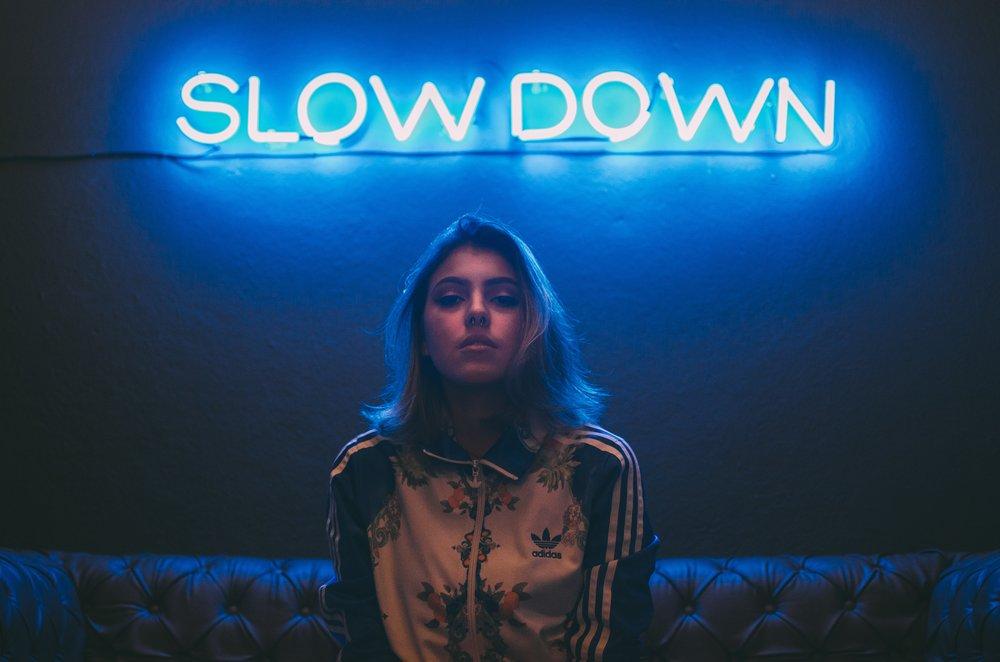 Slow Your Sparkle