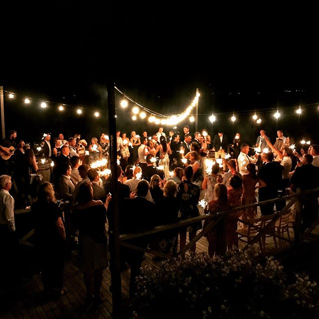 It is a bit magical to gather on the Strathlynn viewing platform under lights as a finishing touch to a beautiful wedding day.  #tamarvalley #discovertasmania #seeaustralia @tasmania . . . . #riverviews #wedding #loveislove #tasmania #travel #function #wine #celebrate #vineyard #weddingtasmania #love #strathlynn #winetasting #tasmaniagram