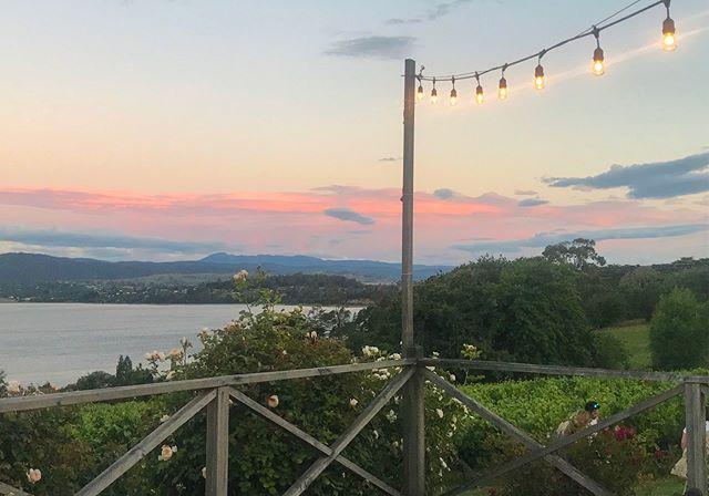 Summer nights on the deck with a glass of the Tamar Valleys best drop. Does it get any better? #tamarvalley #weddingtasmania #discovertasmania . . . . #riverviews #wedding #tasmania #travelgoals #wine #celebrate #vineyard  #justmarried #strathlynn #winetasting #tasmanianwedding #happenessis