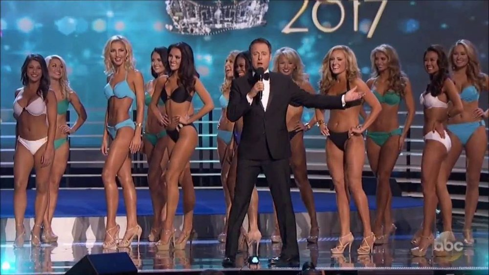 To be fair, viewership is  a lot  about the swimsuit competition. But his point stands.