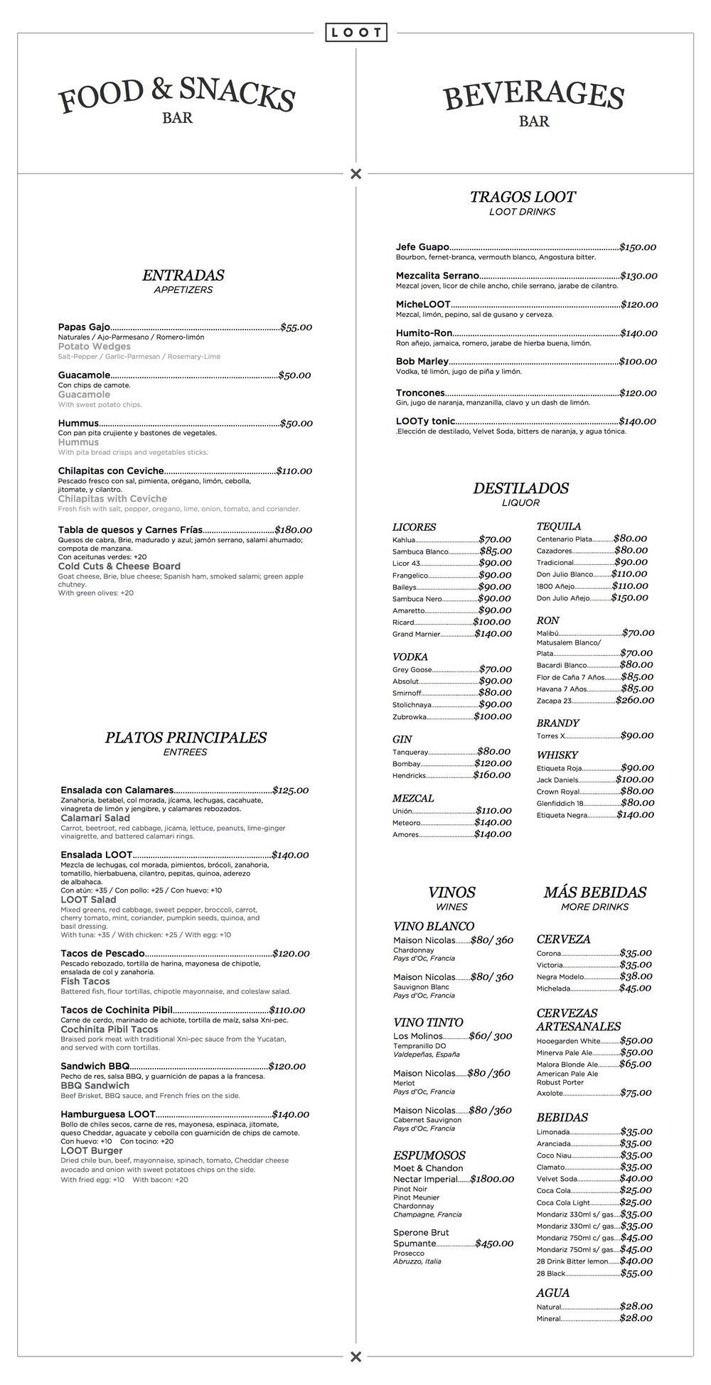 loot-bar-food-drink-restaurant-menu