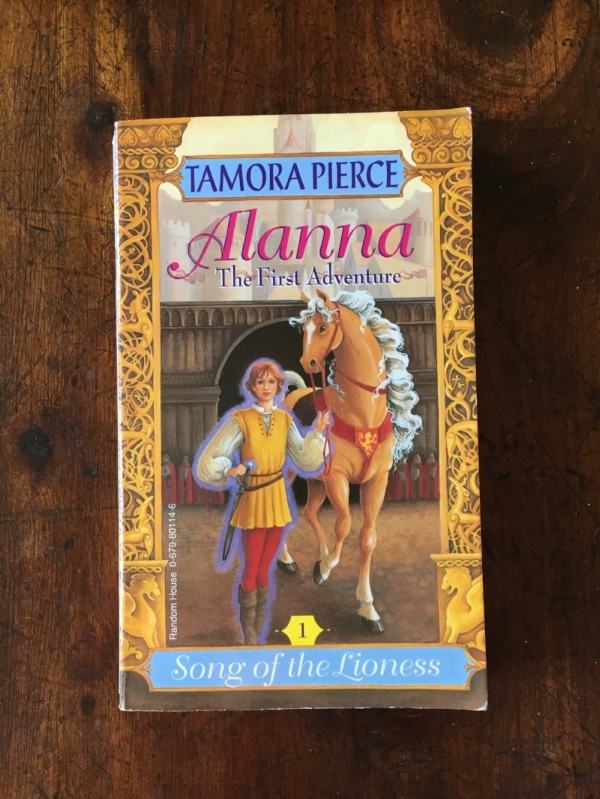Our childhood edition of Alanna: The First Adventure