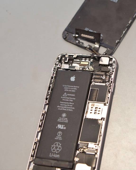broken iphone 6 repaired at san diego mac repair apple certified mac TECHNICIAN original parts