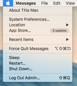 restart or shutdown your mac for at least 1 hour