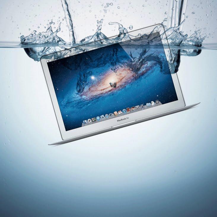san diego mac repair - logic board liquid spill water damage repair - fixed at san diego mac repair in la jolla