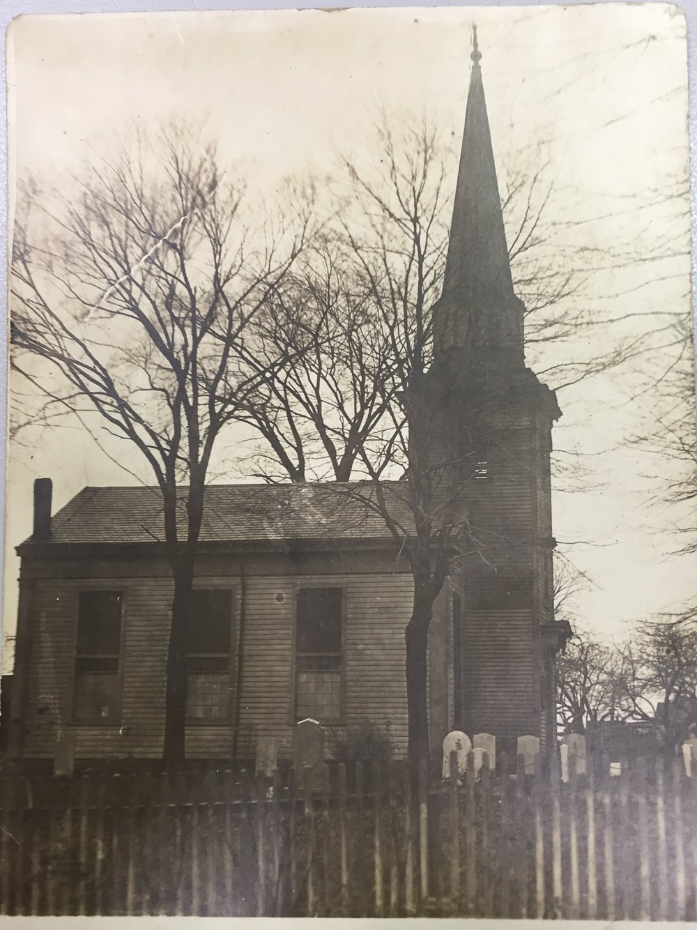 New Dover Church 1920's.