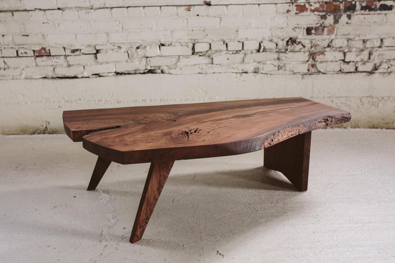 Claro Walnut Coffee Table Nakashima Design Stockton Heritage