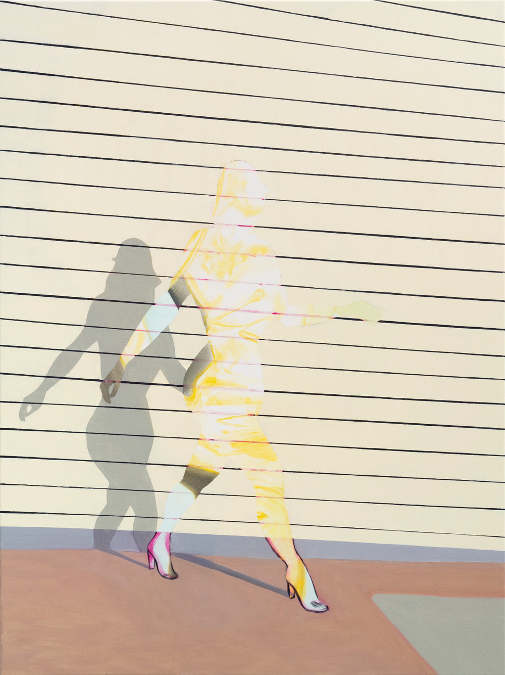 """SCATTER 36"""" x 48"""" Oil on Canvas $1,200.00    BUY"""