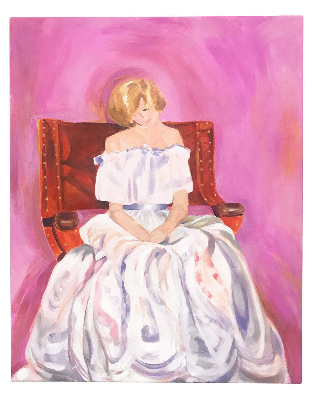 "MEEK & MILD 24"" x 30"" Oil on Canvas $540.00 |  BUY"