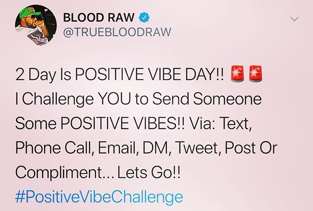 Love my brother, and I love YOU too‼️ 🖤❤️💛🧡💚💙💜 • #PositiveVibeChallenge ❣️ • BLOOD RAW a.k.a. B. Rawsteen • ALL Bookings, Features & More Contact.. Florida J (@FloridaJ850) 850-598-3525 • STAY CONNECTED.. www.RawNewz.live Facebook: @BloodRaw1 Instagram: @BloodRaw1 Twitter: @TrueBloodRaw Snapchat: @TrueBloodRaw • Purchase AND Stream NEW Music by BLOOD RAW @iTunes @AppleMusic @YouTube @Spotify @AmazonMusic @GooglePlay @iHeartRadio @Pandora @Napster @Tidal @SimfyAfrica @Deezer @7Digital @SlackerRadio @Akazoo @Anghami @Spinlet @Yandex @ClaroMusica @Zvooq @Saavn @8tracks @BoomplayMusic and ALL outlets! • #iTunes #AppleMusic #YouTube #Spotify #AmazonMusic #GooglePlay #iHeartRadio #Pandora #Napster #Tidal #SimfyAfrica #Deezer #MediaNet #VerveLife #7Digital #Juke #SlackerRadio #KKbox #Akazoo #Anghami #Spinlet #NeuroticMedia #TargetMusic #ClaroMusica #8tracks #Nmusic #MusicLoad #BoomplayMusic and ALL platforms!! • 💯x🔟
