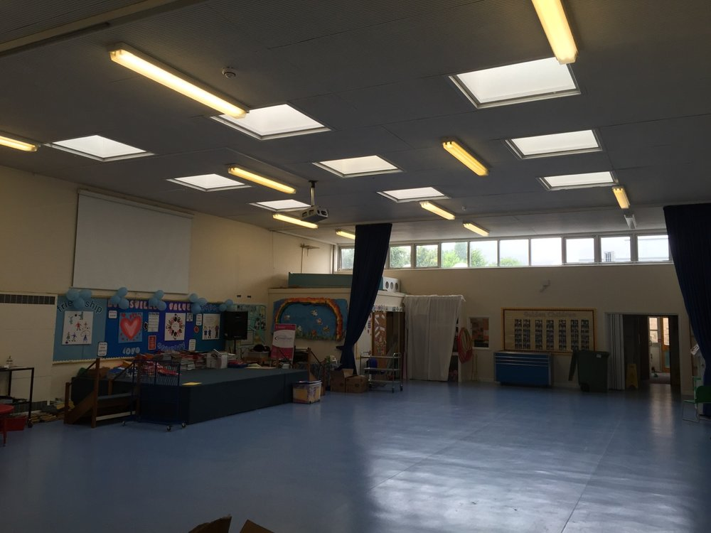 Main Hall pre LED upgrade