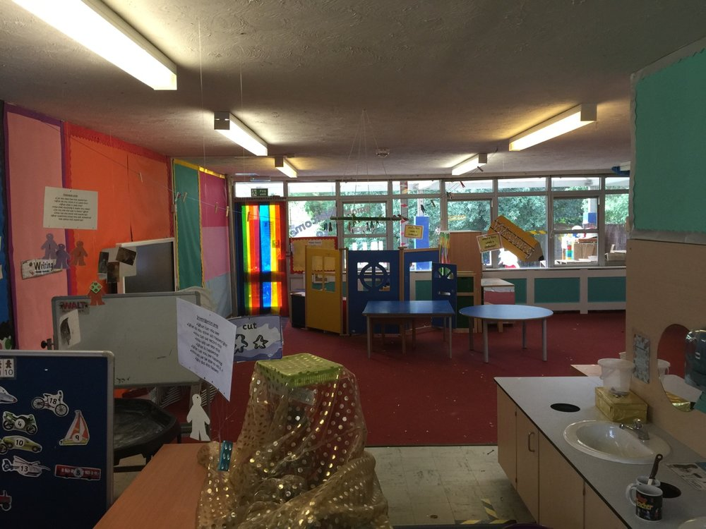 Classroom pre LED upgrade
