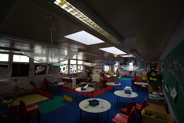 Nursery Classroom with low light levels