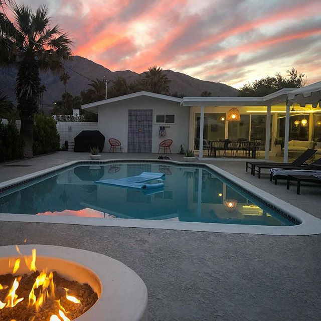 "Palm Springs: where ""magic hour"" really lives up to its name."