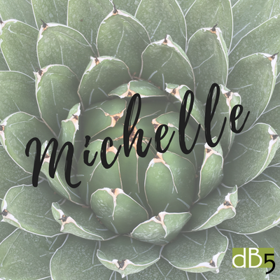 Done By 5, Michelle name graphic. Virtual Assistants for small business owners. San Francisco Bay Area.png