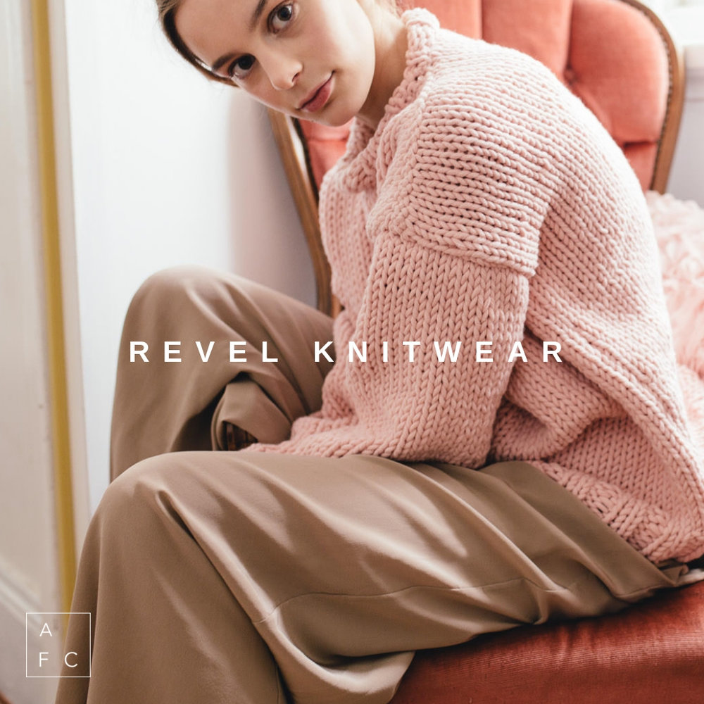 Revel Knitwear by Sydney's Shannyn Lorkin, creates luxury hand-knitted pieces for the modern minimalist. Designed using the classic, timeless aesthetics of knitting, Revel believes that quality is essential and sustainable production non-negotiable… -