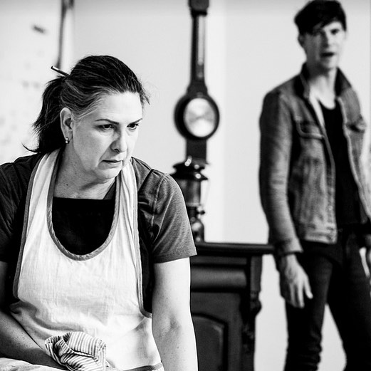 Chookas to our co-AD Duncan Ragg and the cast, creatives and crew for the opening of The Dance of Death @belvoirst tonight!  #belvoir #danceofdeath #theatre #thecorinthianfoodstore #lovehate @fallofasparrow 📸Brett Boardman