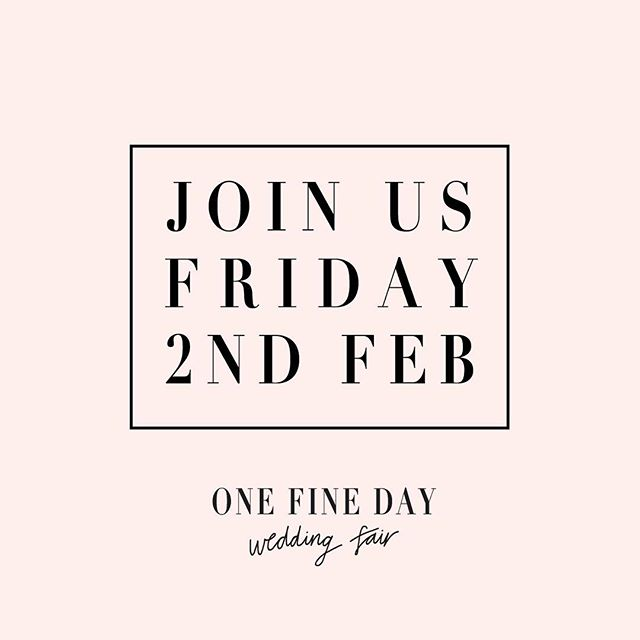 Mark it in your wedding planner, write it on your hand, tattoo it on your forehead! Just don't forget to come to @onefinedayweddingfairs and fill yourself up with amazing wedding inspo, including us! We'll be there, our FLORA collection will be featured in the runway show and it'll no doubt be a great time! But a ticket for you and your bridesmaids and we'll see you there! @qagoma #onefinedayweddingfair #ofd #weddingfair #brisbanebrides