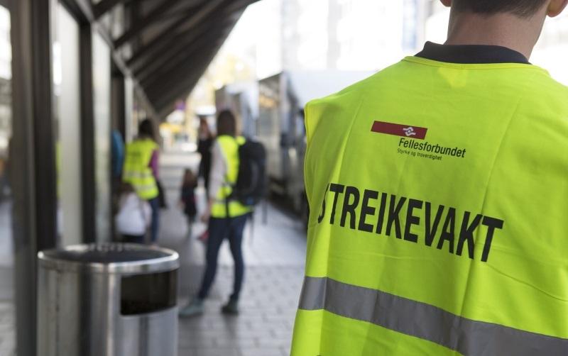 Streik. Foto: NTB Scanpix
