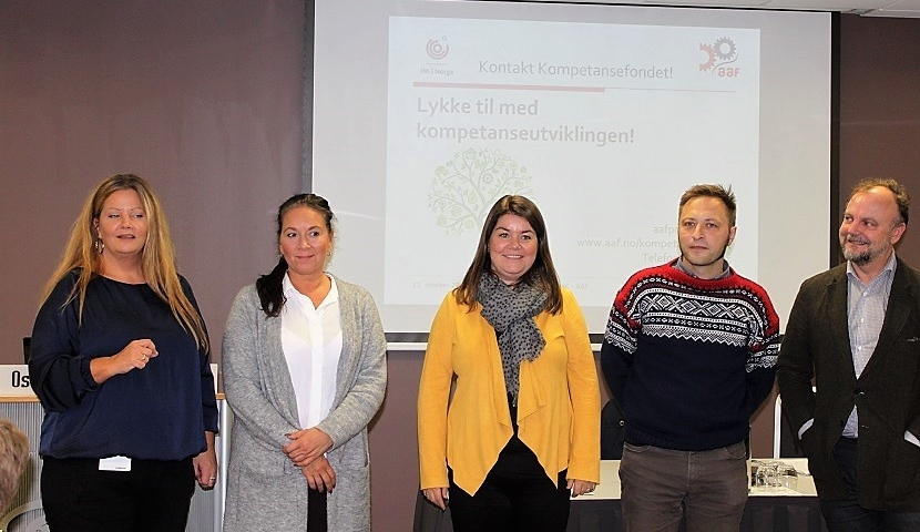 Styret i fondsstyret: Bodil H. Andersen (leder), Ann Suade Garcia (vara), Camilla Synnevåg, Mikkel Kleefeld og Frank Meyer.
