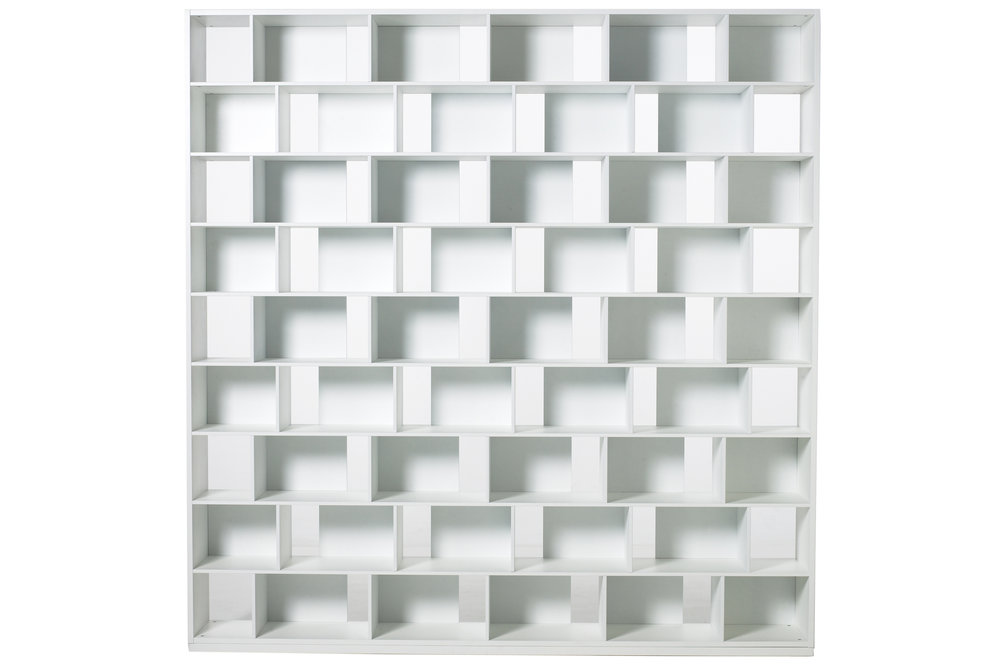 Habitek Samarkand bookcase in white