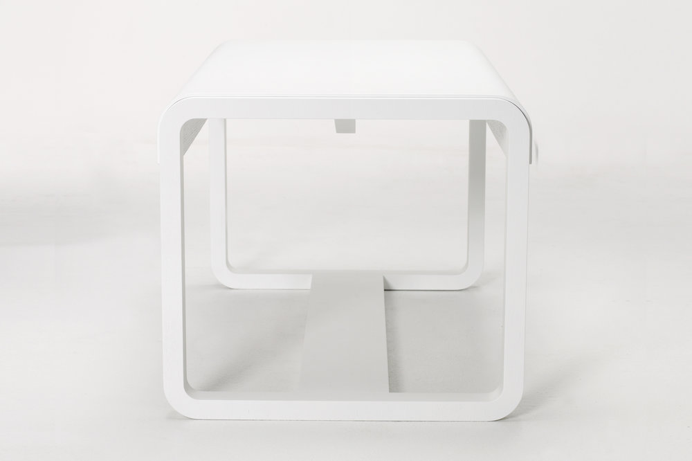Habitek Jono bench in white