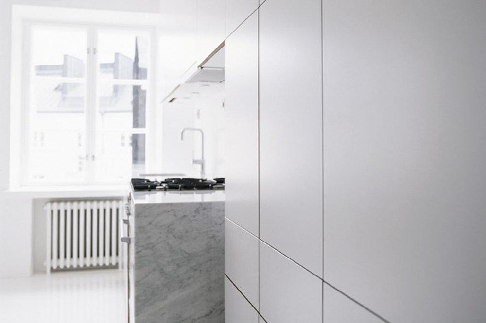 Habitek Solaris white kitchen