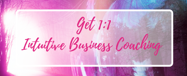1:1 Intuitive Life & Business Coaching - HOW: 1:1 PRIVATE COACHINGWHEN: WAITING LIST AVAILABLEDURATION: 4 MONTHSINVESTMENT: $4000 ($3500 PAY IN FULL WITH COUPON CODE 'PAYINFULL')