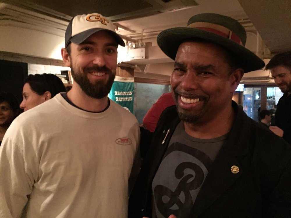 Rare chance to meet this legend of brewing, Garrett Oliver, of the Brooklyn Brewery.