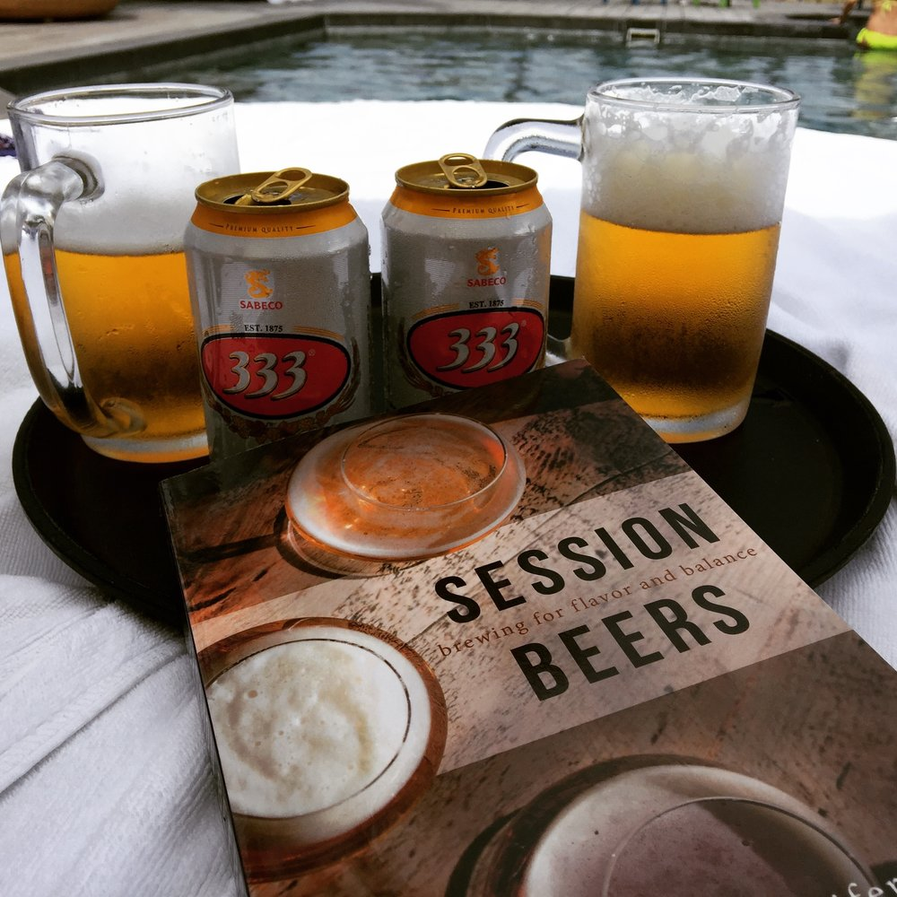 The best way to read about session beer is to read while enjoying a session beer.