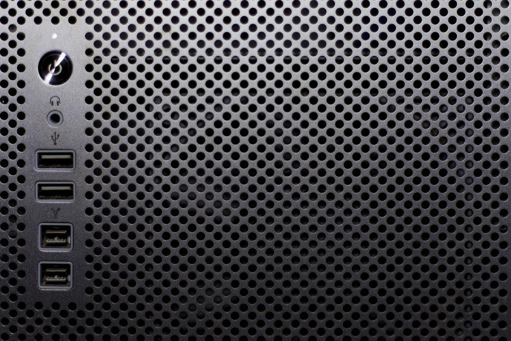 Frontal del Mac Pro